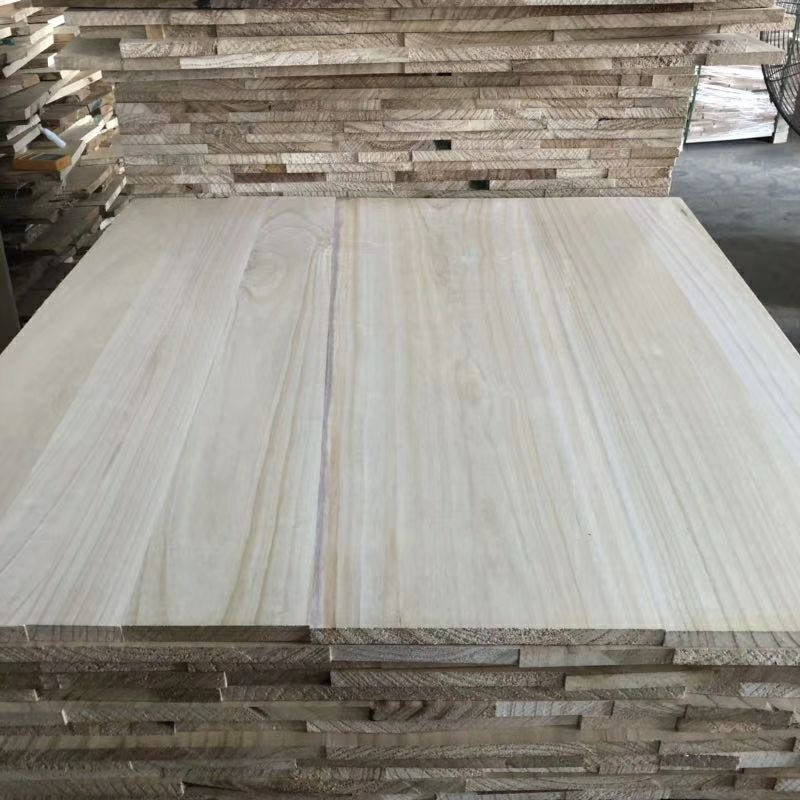Low price supply paulownia wood jointed board for furniture