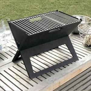 Outdoor Draagbare ijzer Staal Barbecue Camping Vouwen Houtskool bbq grill barbecue grill