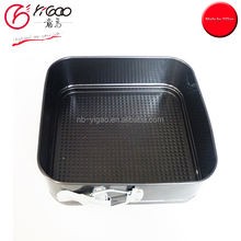 102145 non stick 28 x 28cm square spring form cake pan with good quality