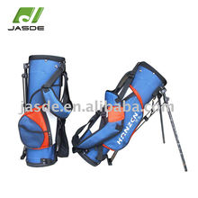 4 individual full length dividers junior nylon golf stand carry bag