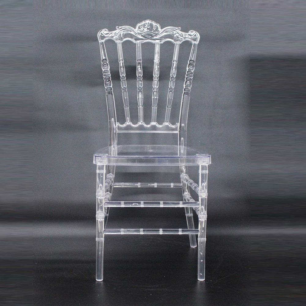 transparent stackable plastic wedding event rental acrylic luxury chairs for event