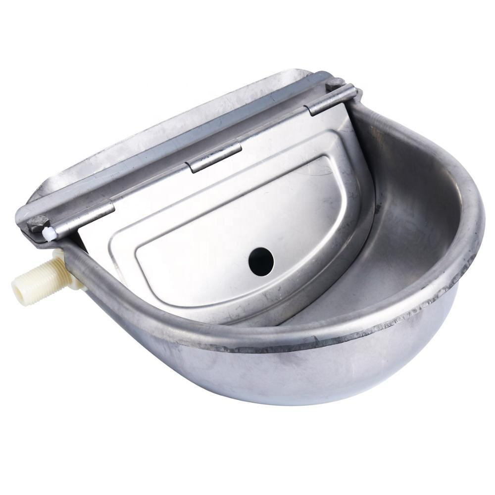 Automatico Waterer Ciotola Farm In Acciaio Inox di Grado Waterer Bestiame Cavallo Capra Sheep Dog Putdoor Pet di Acqua di Alimentazione
