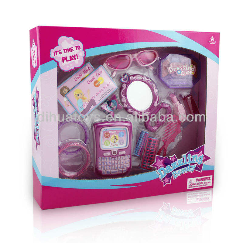 Kids Fashion Play set Princess Beautiful Girl Mirror Toy