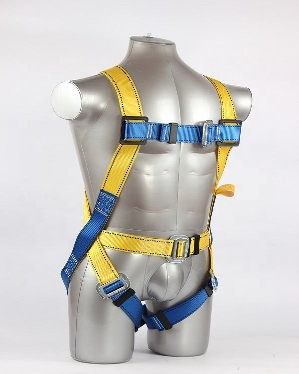 Fall protection equipment full body safety harness