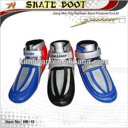 Short track skate boot, full carbon boot for ice skating