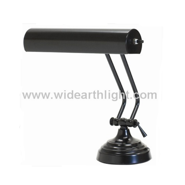 UL CUL Listed In Black Finished Hotel Light Desk With Switch On Shade T40096