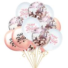 Event Party Supplies Team Bride Confetti Balloon