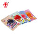 China hot products mini colourful love fruit jelly product beans sweets with bag single flavors