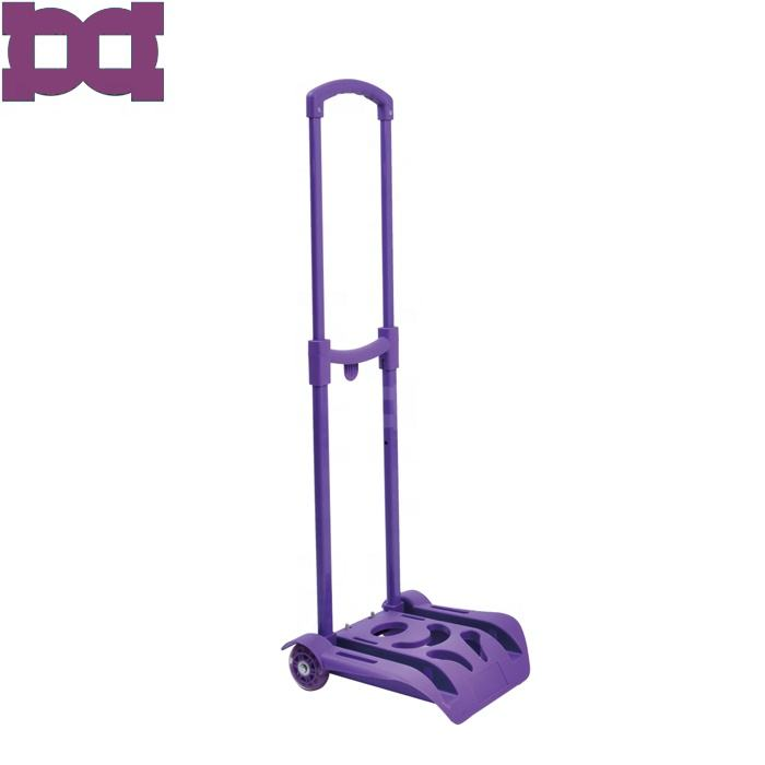 Detachable luggage telescopic trolley handle system