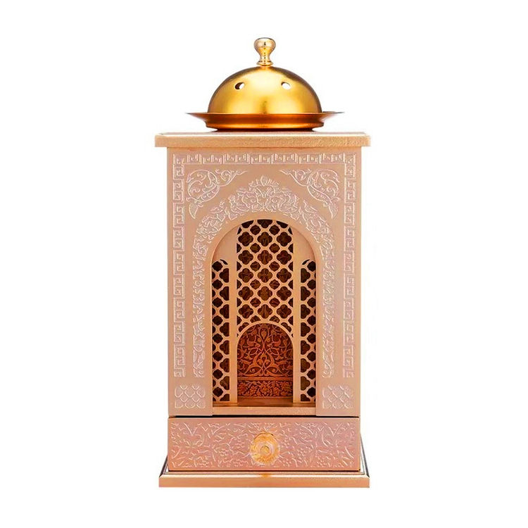 Custom Collins Arabic Style Wooden Incense Burner Arabic