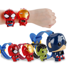 Hot selling Kids watch Transformation toys for kids in 2019