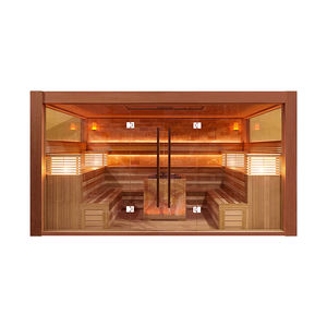 SM-81400 Large simple Commercial Custom luxury dry sauna steam room