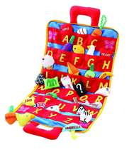 Customized Soft ABC Carry Case Bag Set Alphabet plush With Corresponding Pockets