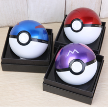 Factory wholesale pokemon poke ball power bank with LED light