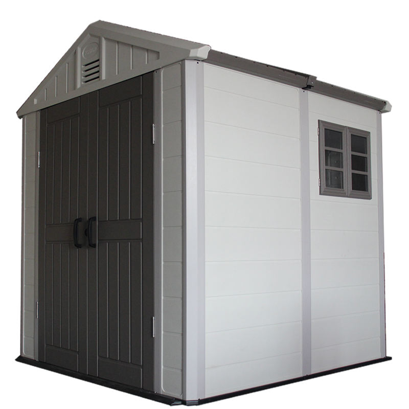 Kinying brand 2018 new-style eco-friendly mobile HDPE plastic shed garden storage