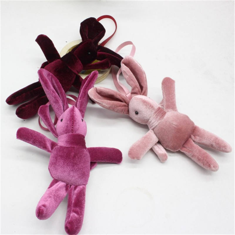 2021 Bouquet Accessories Mini Plush Toy Dolls Velvet Wish Rabbit