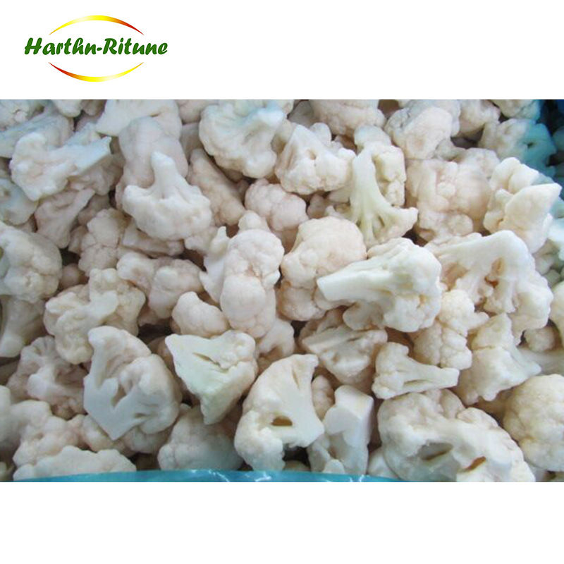 IQF frozen cauliflower vegetable