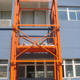 Vertical Guide Rail Hydraulic Warehouse Cargo Lift Price for construction building
