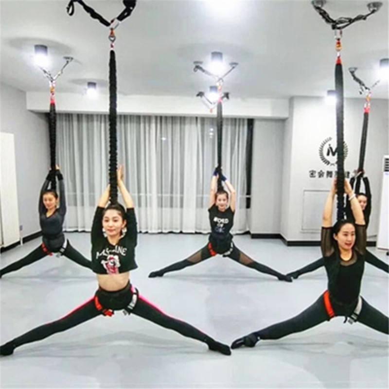 Gravedad Bungee Suspensión Aéreo Yoga Danza Hogar Gimnasio Fitness Equipo Moscas