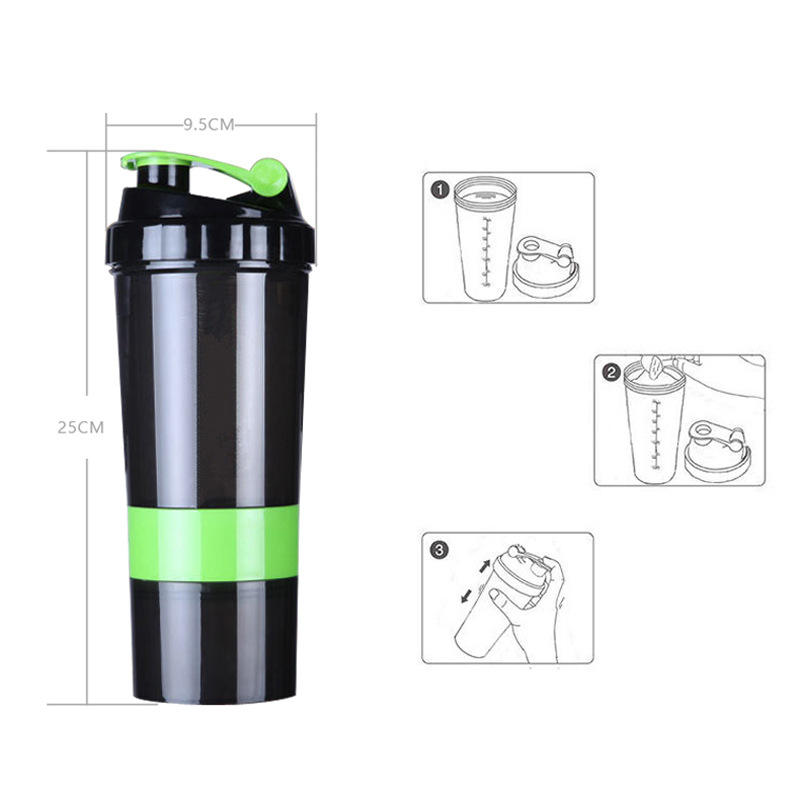 Wholesale factory shaker bottle, protein shake for gym