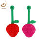 FJ-83 silicone strawberry tea filter with handle tea infuser tea strainer tools