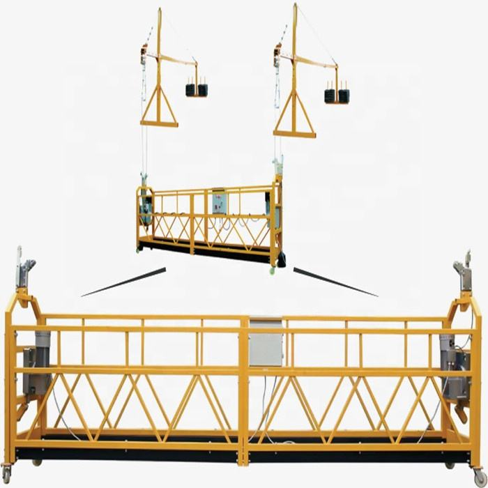 tools and equipment building rope working platforms 500 1000kg suspended platform cradle
