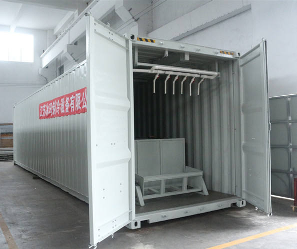 ICEMA factory 10 ton/day containerized mobile ice machine plant to make block ice