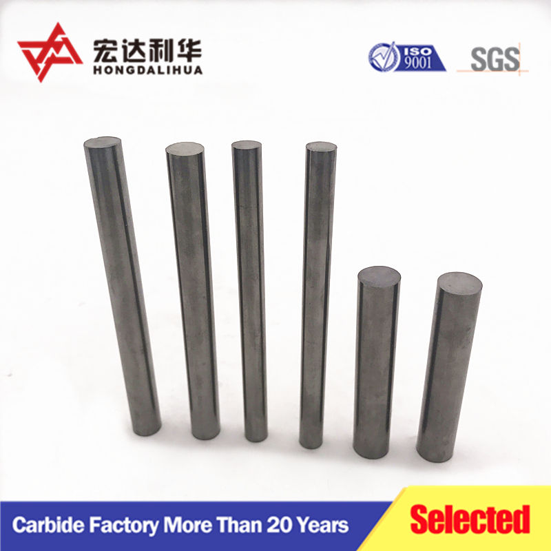 Hard alloy rods yl10.2 tungsten carbide solid bar from lihua factory