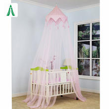 baby bed roller mosquito net Toddler Crib Canopy Infant Baby Cot Bed