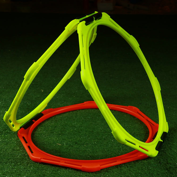 Football Soccer Agile Circle Hex Speed Agility Rings