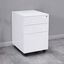 Office furniture A4 File steel metal Cabinet moving storage 3 drawers cabinet Mobile Pedestal filing cabinet