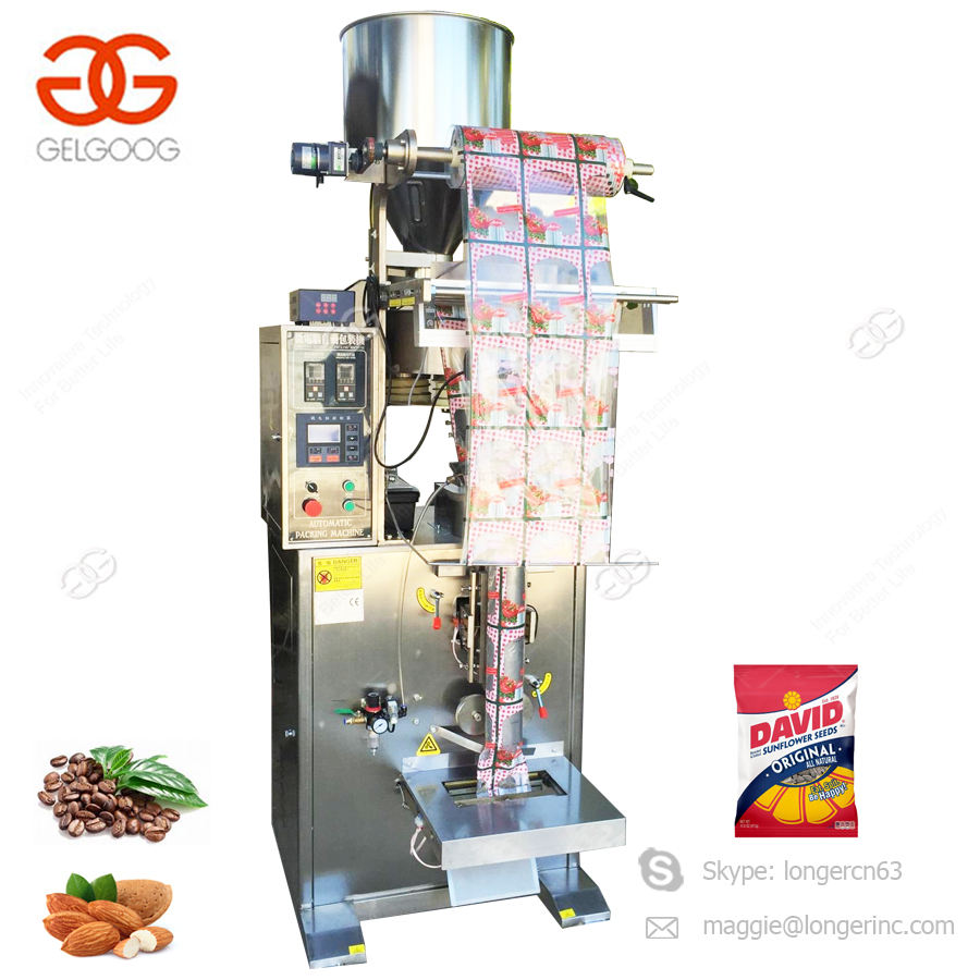 Automatic Vertical Corn Puffs Cashew Nut Packing Machine Coffee Beans Packaging Machine