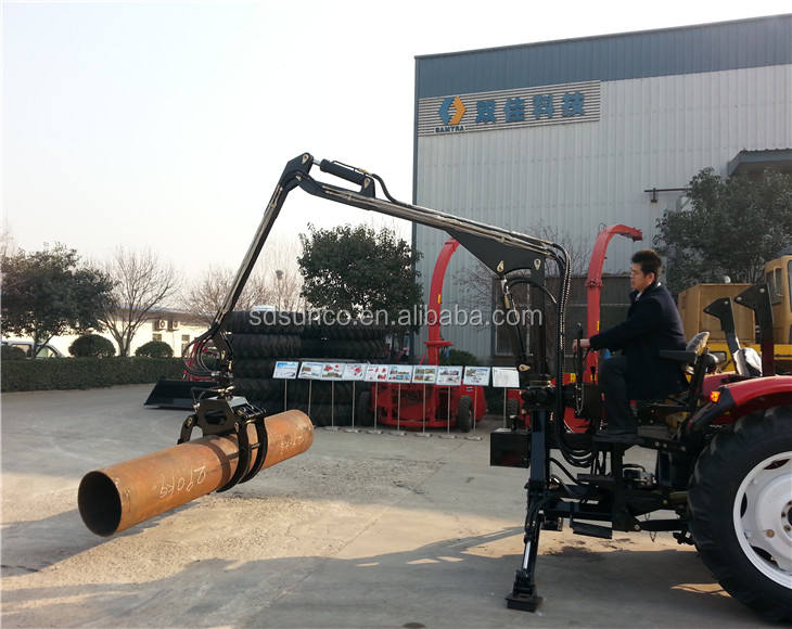 log crane loader, log crane for truck