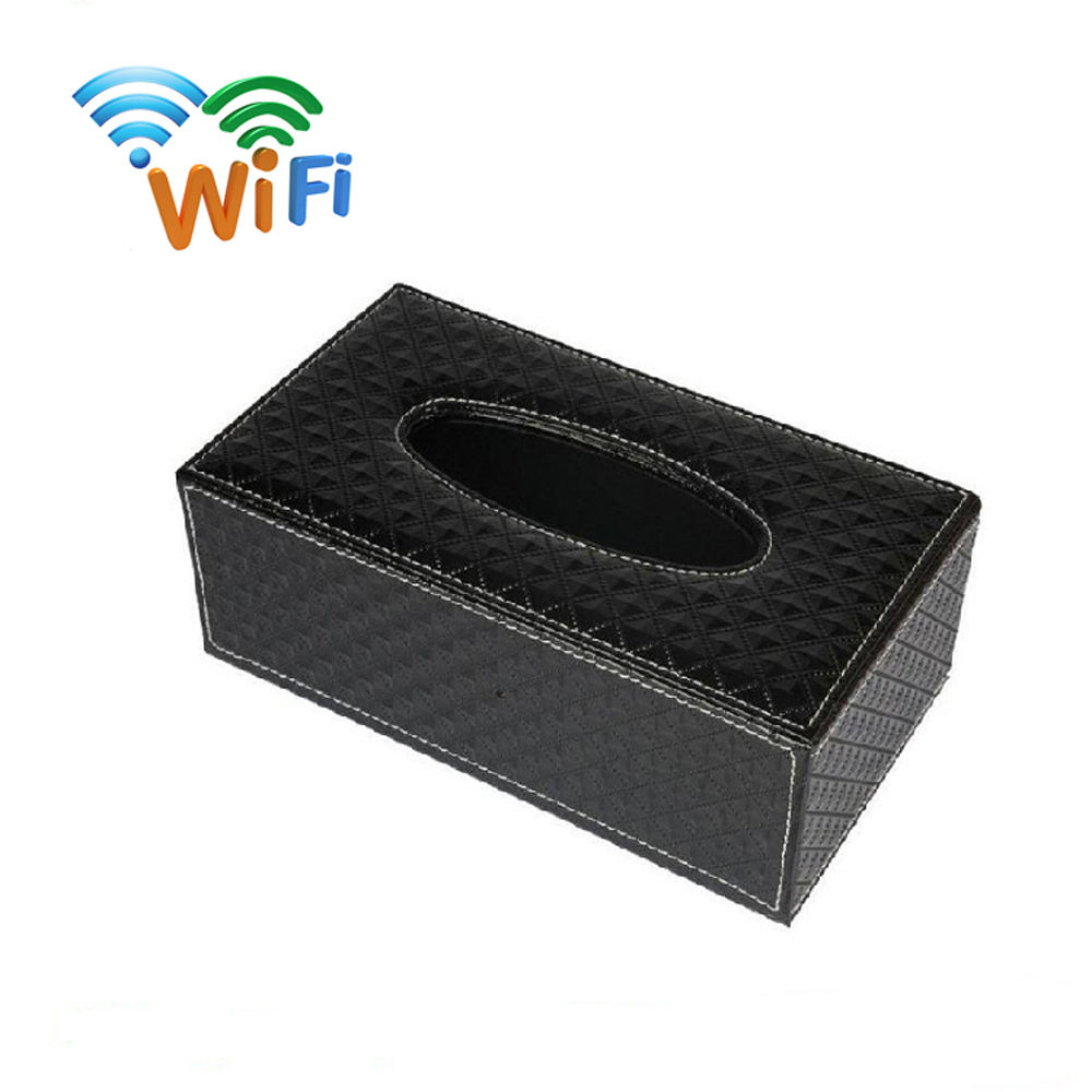 Tissue Box Dispenser Hidden Security Nanny Full HD 1080P Camera with Audio
