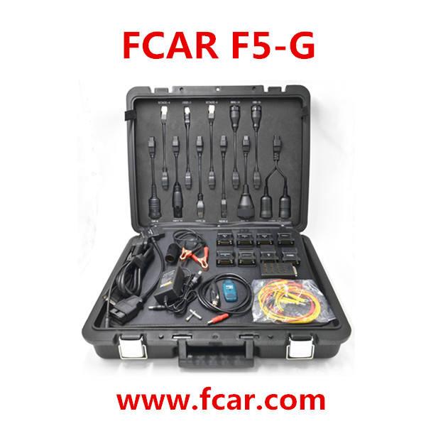 자동 진단 스캐너, 모든 작은 자동차, 무거운 의무 트럭, Srs, Abs 배기, 인젝터 리셋, 키 프로그램, FCAR F5 G 스캔 도구