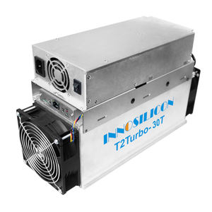 ASIC innosilicon Turbo 24Th/s 30Th/s bitcoin miner T2T with lianli power supply