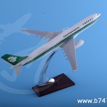Resin Plane Model Airbus A330 China Postal Airlines 30cm Commercial Promotional Gift Craft Advertisement Collectible Customized