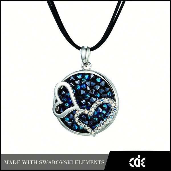 cde quartz pendentif en cristal à double collier coeur bijoux en <span class=keywords><strong>gros</strong></span> au maroc