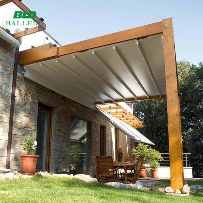 Modern house impermeabile cassetta piena <span class=keywords><strong>elettrico</strong></span> tendalino a scomparsa con motore tubolare