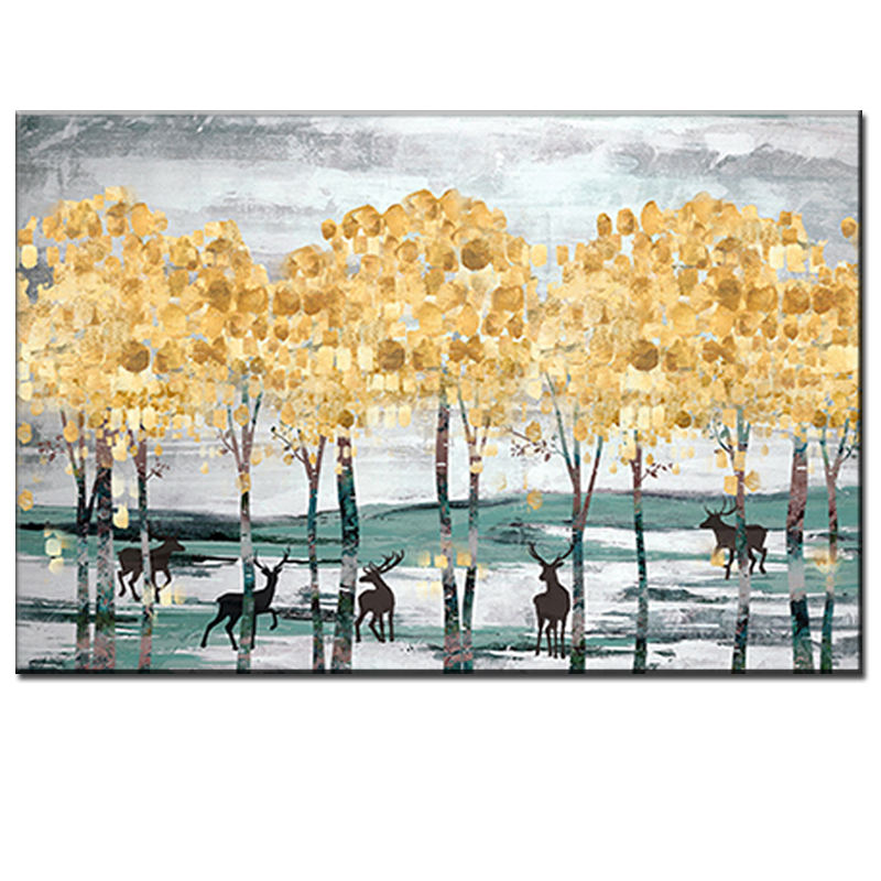Brand new modern abstract canvas print painting decoration wall art
