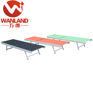 Wanland outdoor aluminum pool /beach sun bed
