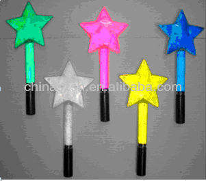 Promotional Party Favor Led Start shape stick,small but beutiful