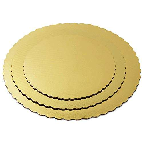 New Round Circle Plate Board Cardboard Cake Drum Base