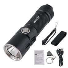 Tactical LED Torch Light 3600 Lumen 26650 Battery Powerful Waterproof XHP70 Flashlight with OTG