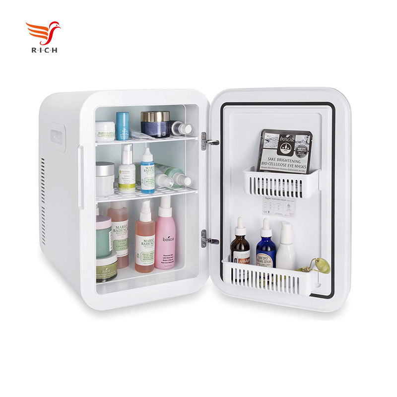 15L Beauty Fridge Portable Mini Fridge Refrigerator for Cosmetic Electric Power Car Freezer DC12V