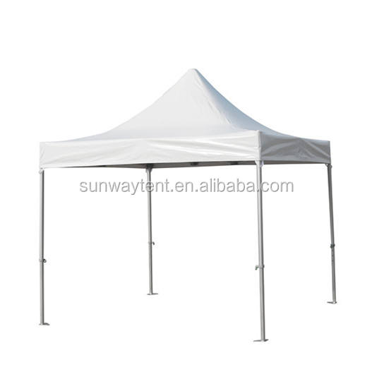 3 x 3m Outdoor Aluminum Folding Gazebo Tent and 520G PVC Canopy