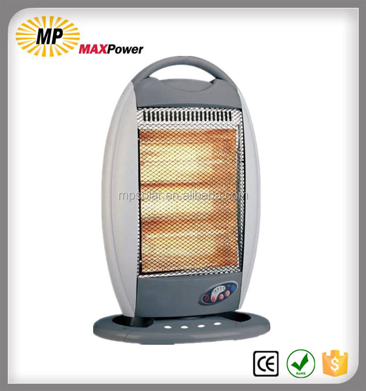 Portable electric bathroom halogen heater with promotion price