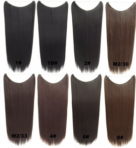 Wholesale Factory Price Unprocessed Human Hair Virgin Brazilian Halo Hair Extensions