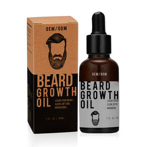 OEM/ODM Organic Mens Facial Hair Product Beard Oil Essential for Fuller Beard Growth Oil