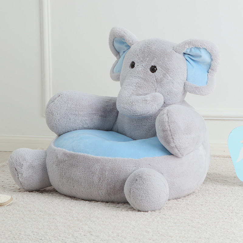 Elephant child seat Animal stuffed plush sofa for baby sofa gift